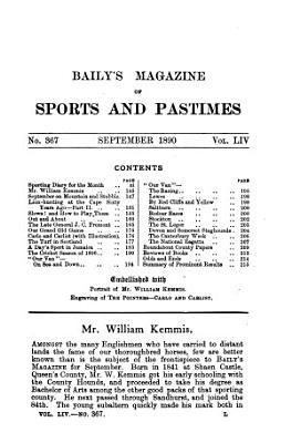 Baily s Magazine of Sports and Pastimes PDF