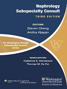 The Washington Manual of Nephrology Subspecialty Consult PDF