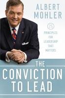 The Conviction to Lead PDF