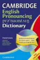 Cambridge English Pronouncing Dictionary PDF