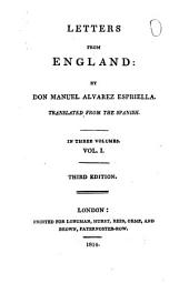 Letters from England: Volume 1
