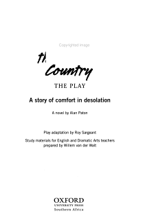 Cry  the Beloved Country Book