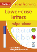 Lower Case Letters Age 3-5