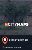 City Maps Christchurch United Kingdom