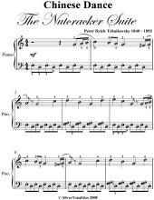 Chinese Dance the Nutcracker Easy Piano Sheet Music