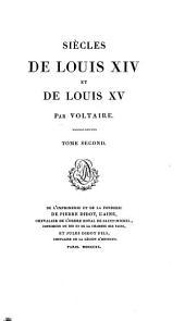 Siècles de Louis XIV et de Louis XV: Volume2