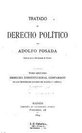 Tratado de derecho político: Derecho constitucional comparado de los principales estados de Europa y América