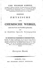 Sämmtliche physische und chemische Werke. 1