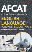 AFCAT English Language Chapterwise Previous Year Papers 1st Edition PDF
