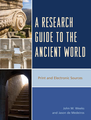 A Research Guide to the Ancient World PDF