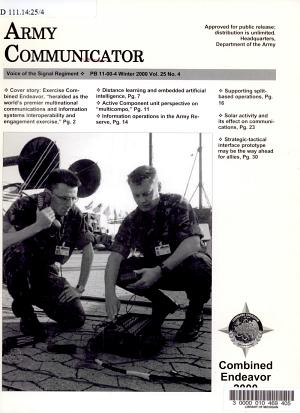 The Army Communicator PDF
