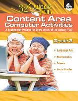 32 Quick   Fun Content area Computer Activities Grade 2 PDF