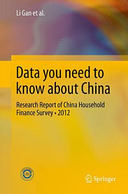 Data you need to know about China PDF