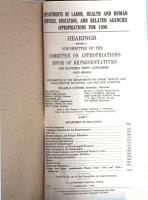 Departments of Labor  Health and Human Services  Education  and Related Agencies Appropriations for 1990 PDF