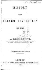 History of the French Revolution of 1848