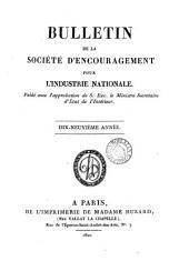 Bulletin De La Societe D'encouragement