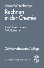 Rechnen in der Chemie: Grundoperationen - Stöchiometrie, Ausgabe 10