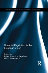 Financial Regulation in the European Union