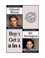 Celebrity Biographies   The Amazing Life of Orlando Bloom and Kit Harington   Famous Stars PDF