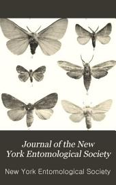 Journal of the New York Entomological Society: Volumes 1-2