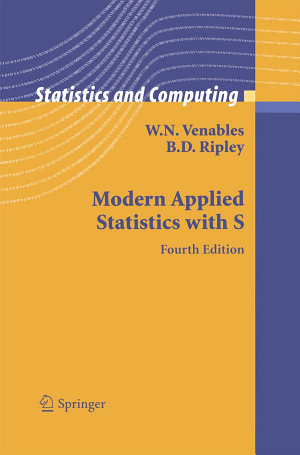 Modern Applied Statistics with S