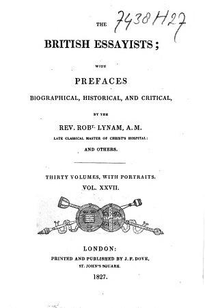 The British Essayists PDF
