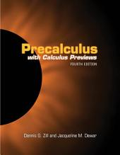 Precalculus with Calculus Previews: Edition 4