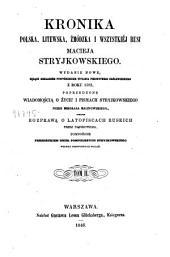 Kronika Polska, Litweska, Żmódska i wszystkiéj Rusi: Tom 2