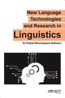 New Language Technologies and Research in Linguistics