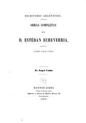 Obras completas de D. Esteban Echeverria: El ángel caido