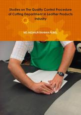 Quality Control Technique  Leather Products Cutting Department PDF