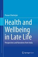 Health and Wellbeing in Late Life PDF