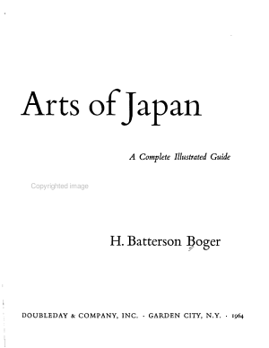 The Traditional Arts of Japan