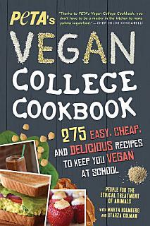 PETA S Vegan College Cookbook Book