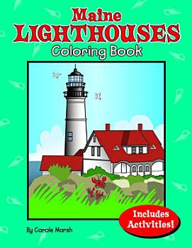 Maine Lighthouses Coloring Book PDF