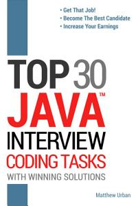 TOP 30 Java Interview Coding Tasks PDF