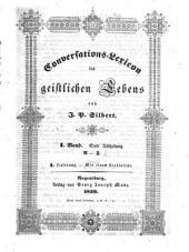 Conversations-Lexicon des geistlichen Lebens: A - F. 1,1