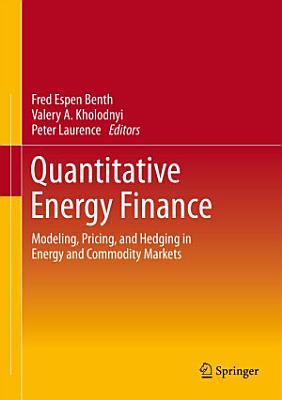 Quantitative Energy Finance PDF