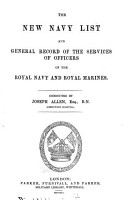 The New navy list  compiled by C  Haultain  and   J  Allen  PDF
