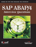 Sap Abap/4, Interview Questions: Hands On For Cracking The Interview