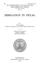 Irrigation in Texas