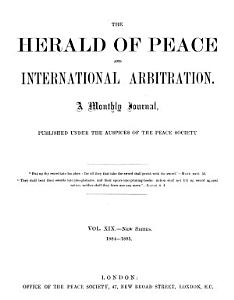 The Herald of Peace on International Arbritaion  PDF