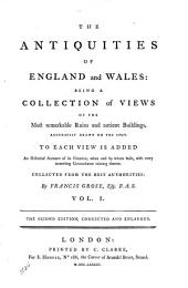 The Antiquities of England and Wales: Volume 1