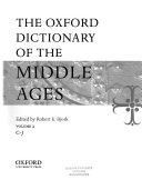 The Oxford Dictionary of the Middle Ages PDF