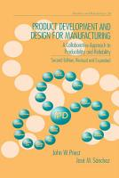 Product Development and Design for Manufacturing PDF