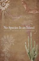 No Species Is an Island PDF