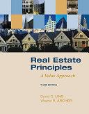 Real Estate Principles  A Value Approach PDF