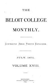 Beloit College Monthly PDF