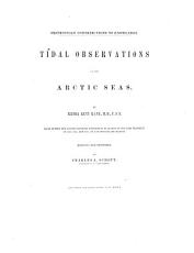 Tidal Observations in the Arctic Seas PDF