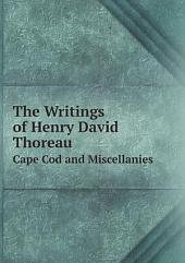 The Writings of Henry David Thoreau: Volume 1